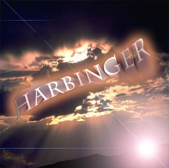 cover art for Harbinger album