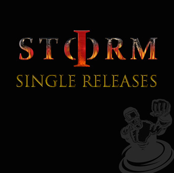 Cover art I Storm single I of the Storm
