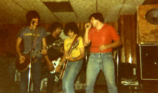 Tom Mody & the band Merchant 1982